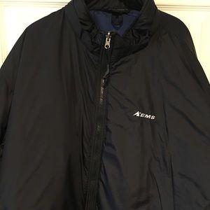 EMS black puffer coat. XXL
